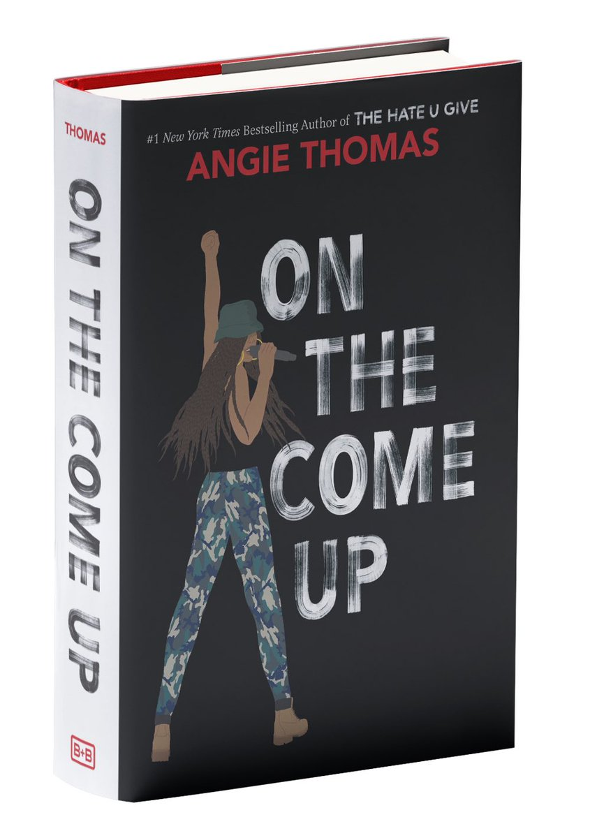So excited I finally finished Hemingway 👎 and get to start a real piece of literature. @angiecthomas #OnTheComeUp