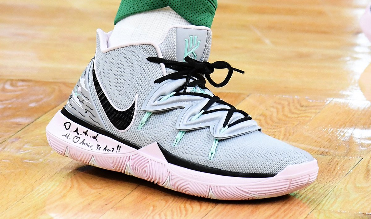 5c2c9ee1a01c new nike kyrie 5 for kyrieirving tonight babsphoto