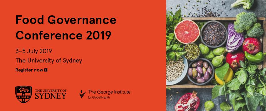 Food Governance Conference 2019