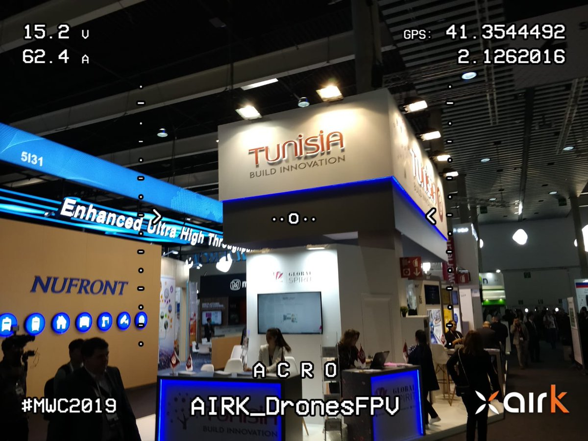 #Tunisia, interesting and emerging country! #mwc19 #mwc2019 #avistadedrone #airkdrones #emergingcountry