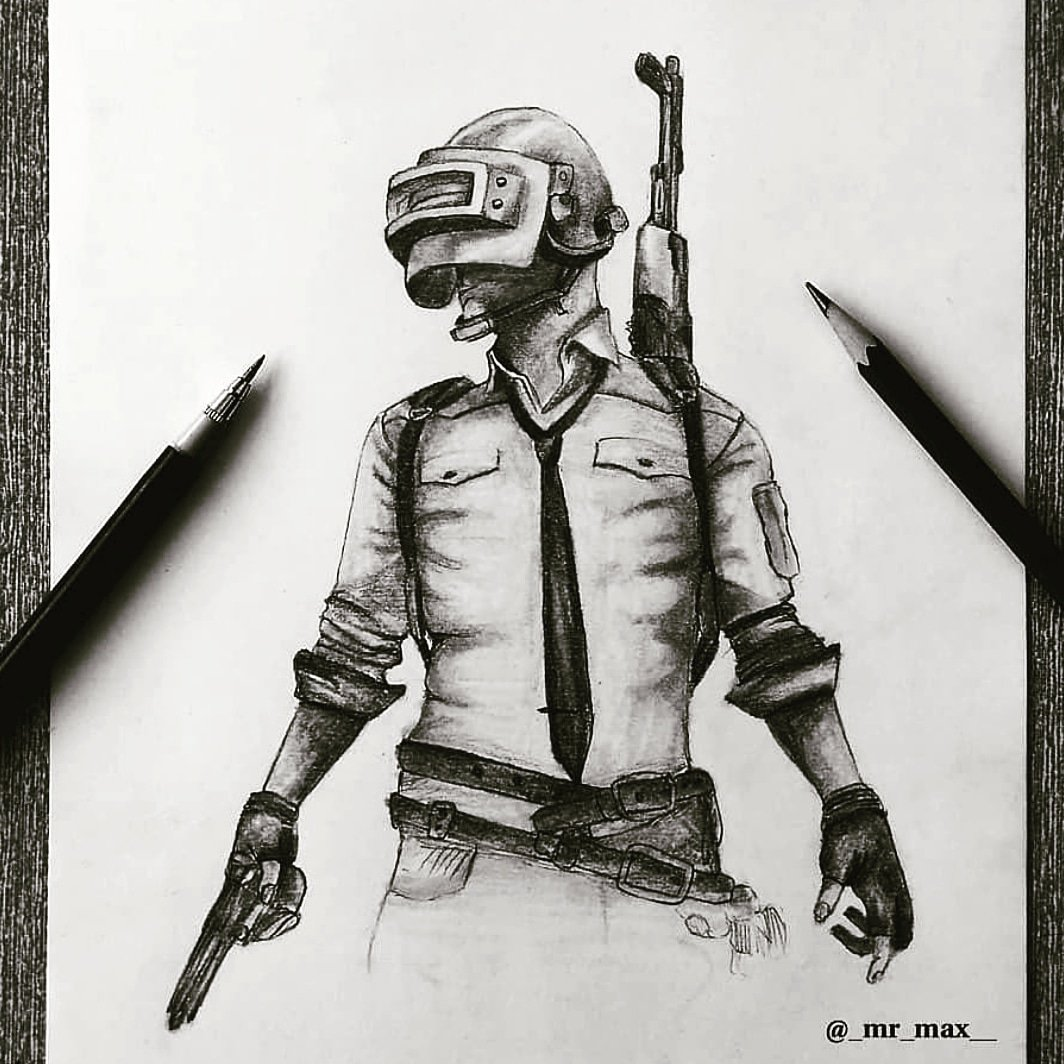 Pubg Cartoon Drawing Pubg Coin Ultimate Pack
