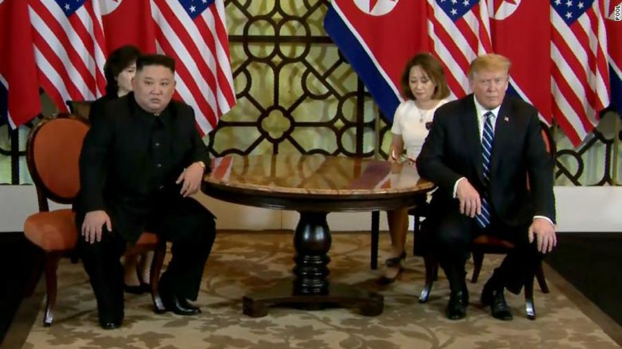 JUST IN: The White House says no joint agreement has been reached between President Trump and North Korean leader Kim Jong Un, as their Hanoi summit ends abruptly https://cnn.it/2TiubGt