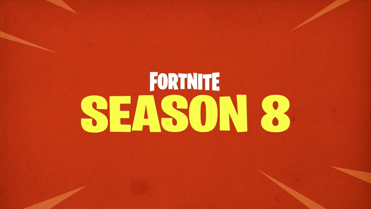 fortnite season 8 patch notes twitter