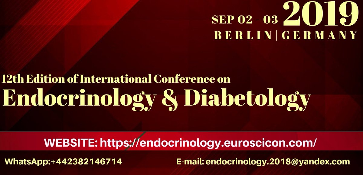 Endocrinology Conferences CME on Twitter:
