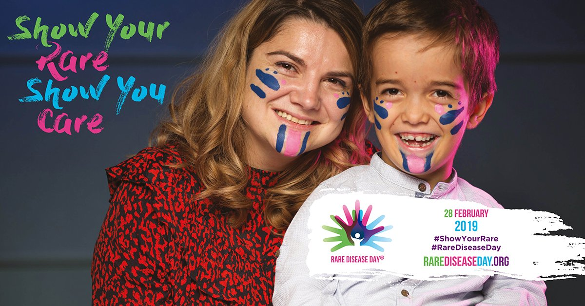 Today is #RareDiseaseDay 2019! Events are taking place in 90+ countries around the world to raise awareness of the impact of rare diseases. Find an event near you http://rarediseaseday.org/events/world  #ShowYourRare