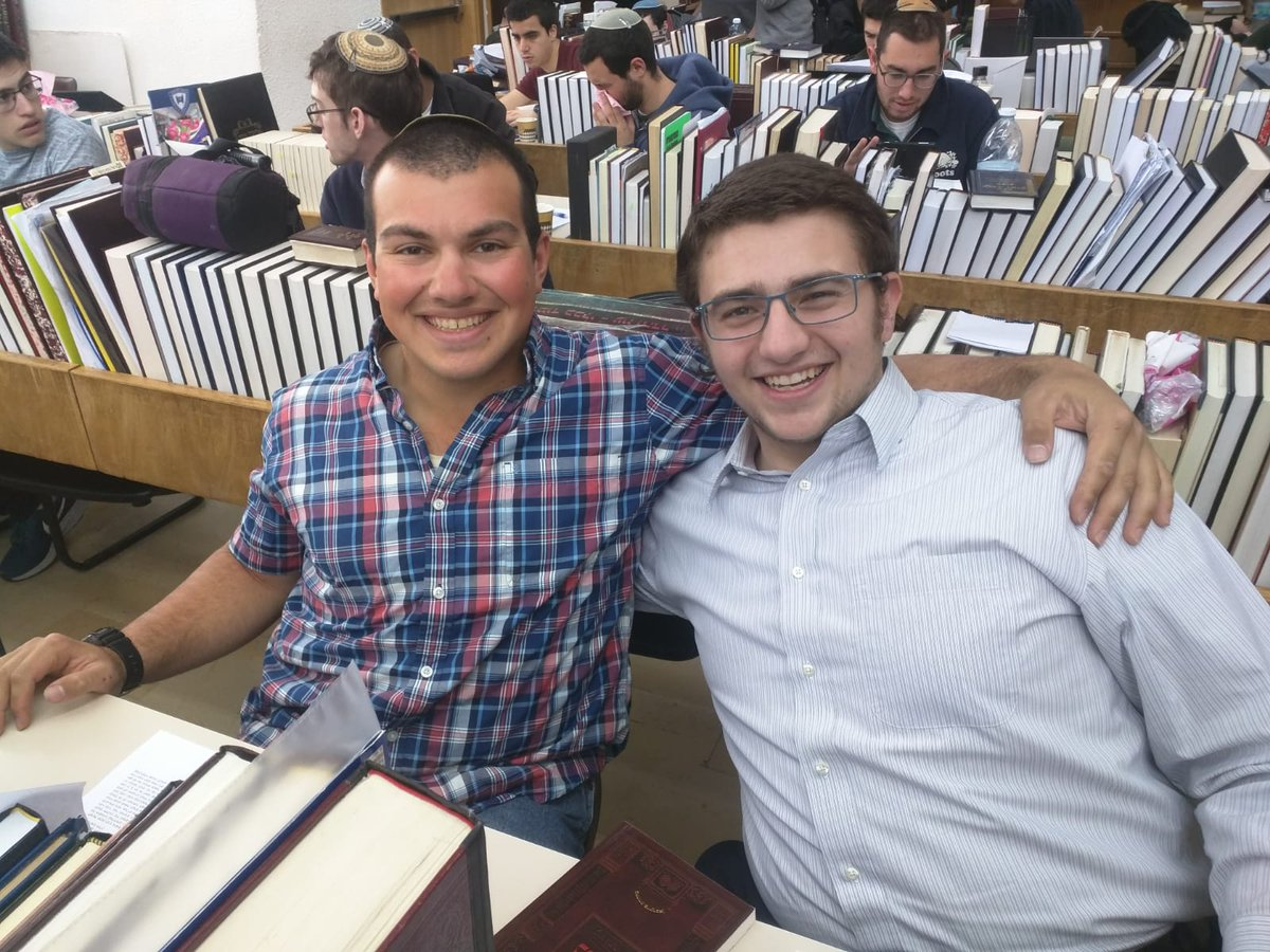 We Call It Boger Tzair Yoni Used His Day Off From The Army To Come Learn With Gedaliah Once A Always