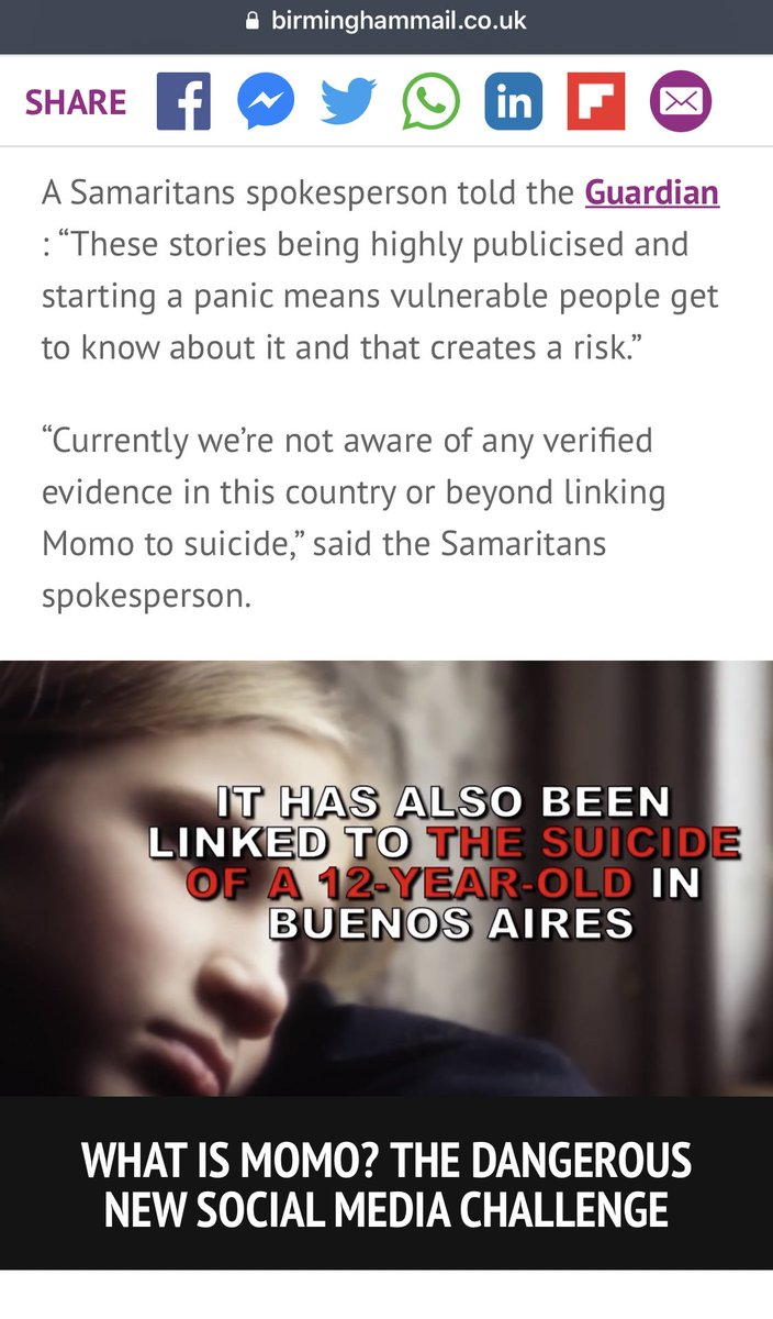 a61eae4fc Charities say there's 'no evidence' the Momo challenge has harmed ...
