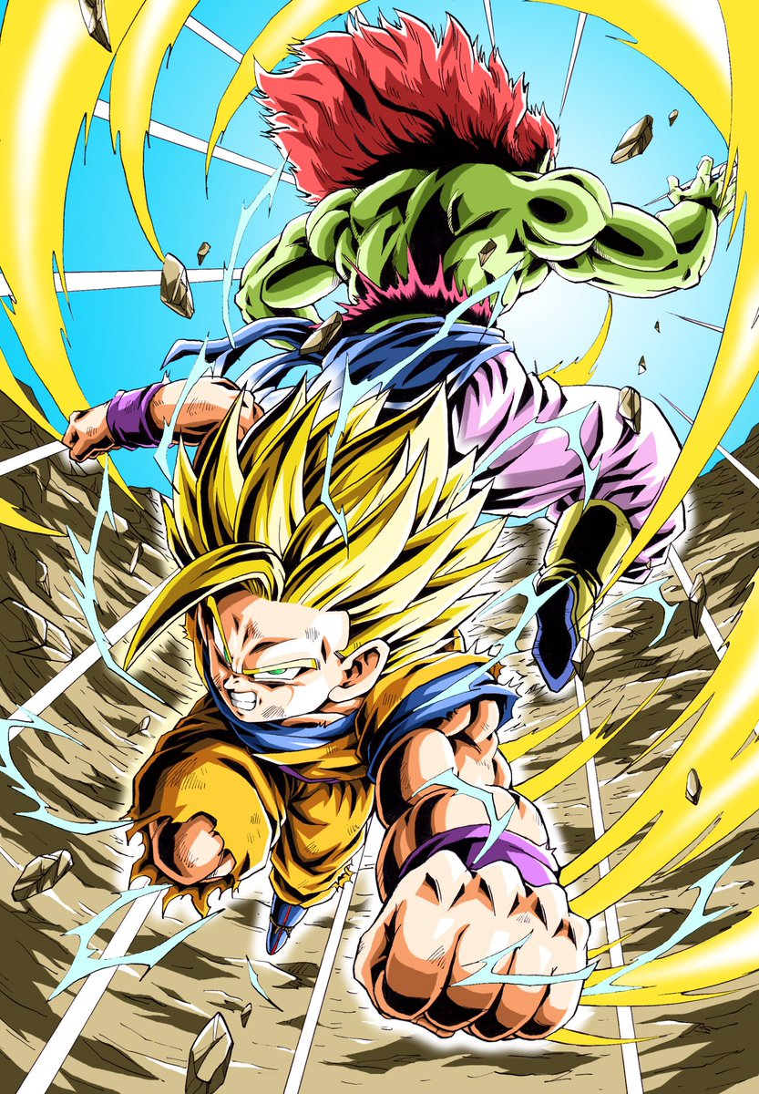 Images découvertes [Fanarts Dragon Ball] - Page 6 D0ewGHpUwAA-zZ3