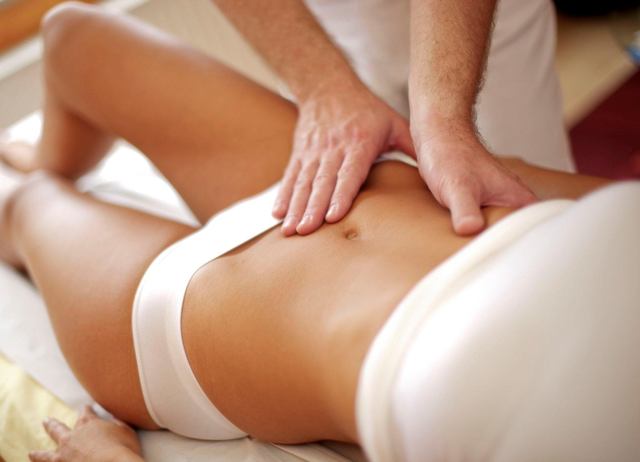 Видео уроки массажа для похудения