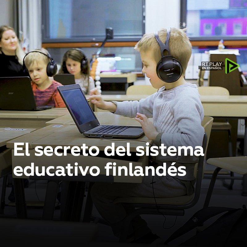 RT @ActualidadRT: Aprendizaje sin deberes ni castigos: Así es la mejor educación del mundo https://t.co/t0YoXgiOZA
