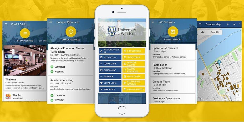 Uwindsor Campus Map.Uwindsor Engineering Uwindsoreng Twitter