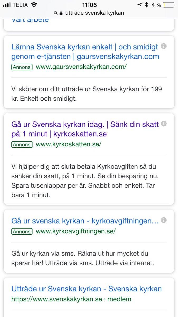 utträde svenska kyrkan gratis