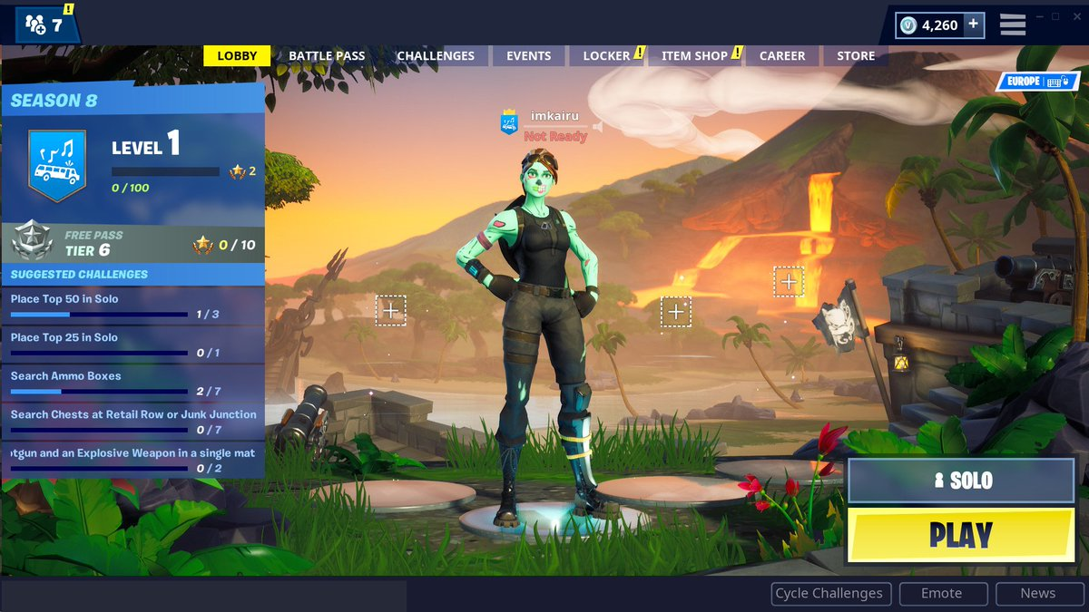 Fortnite Lobby Screen Cheat A Fortnite