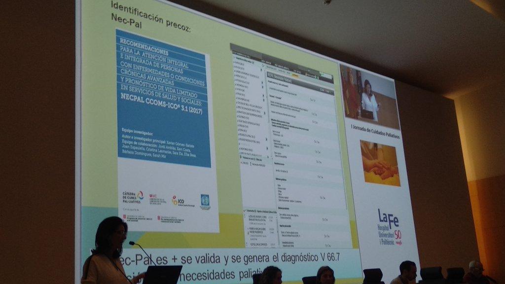 #NECPAL integrado en la HC de atención primaria en Valencia! Bravo! #PaliativosLaFe