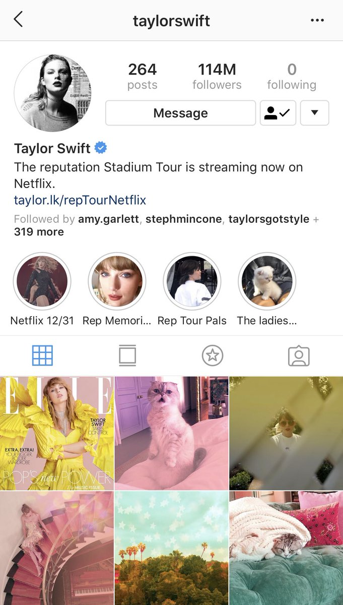 Folklore On Twitter Reputation Era Is Definitely Over Today Might Be The Last Day We See This As Tay S Display Picture Her New Aesthetic Is In Screaming Colours Https T Co Wapnkv05my