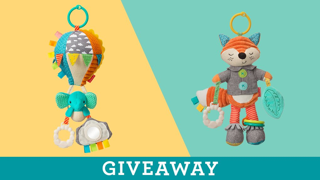 #WIN a multi-sensory Playtime Pal - perfect for baby to cuddle with, and easily hangs from a car seat or stroller to keep them occupied. TO ENTER:   Follow us  Like this tweet  Let us know which character you&#39;d love to win. Good luck! <br>http://pic.twitter.com/msRul921tY