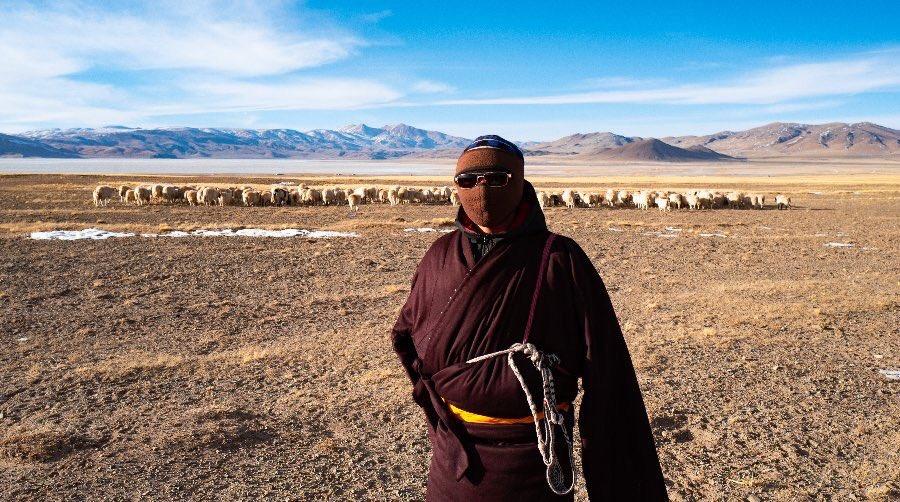 """中国 新華社 日本語 on Twitter: """"中国南西部・チベット自治区の双湖県 ..."""
