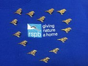 Have you found one of the gold robin #RSPBPins yet? These special pin badges have been released in honour of our Local Group members and all the help they have given the RSPB for over 50 years! #FindYourLocalRobin