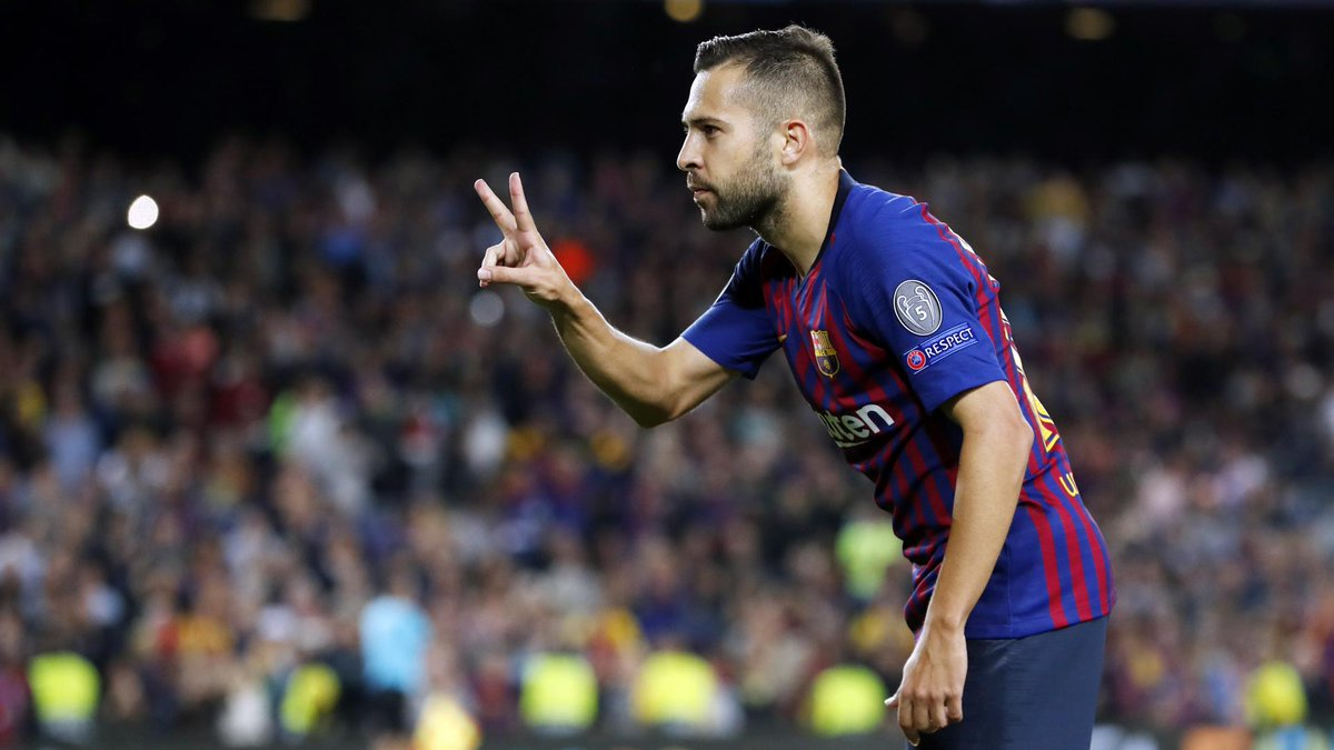 [ ❗ LATEST NEWS] @JordiAlba renews his contract with FC Barcelona until 2024! Find out all the details 👉 http://ow.ly/NUjB30nS1yw  🔵🔴 #ForçaBarça