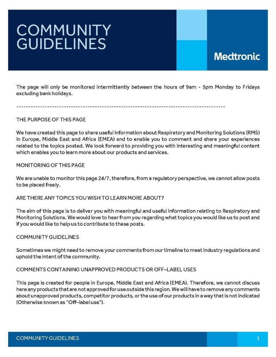 Medtronic Respiratory & Monitoring Solutions EMEA