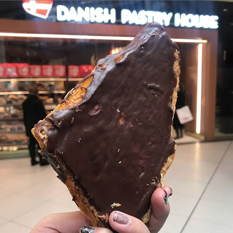 """Danish Pastry House Twitter પર: """"Have you discovered our massive Viking  Slice yet, like @mistressmacchiato did recently? Made with our flaky Danish  pastry, custard, almond paste and chocolate - you need to"""