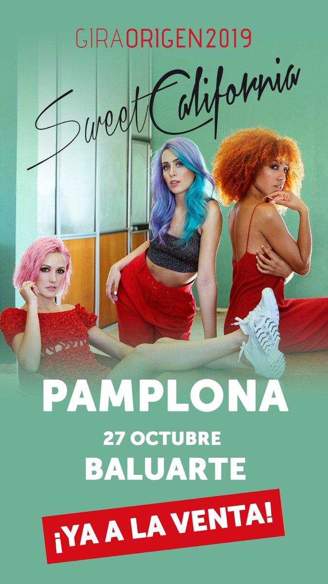 Cfo Sweet California Su Twitter Pamplona 27 De Octubre Baluarte Entradas Ya A La Venta Https T Co Jtkp4jbqwk Giraorigen2019