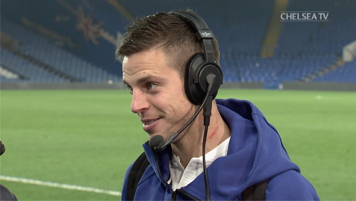 .@CesarAzpi explains the defensive changes that we have adopted recently and how they are helping the Blues attack! 💪