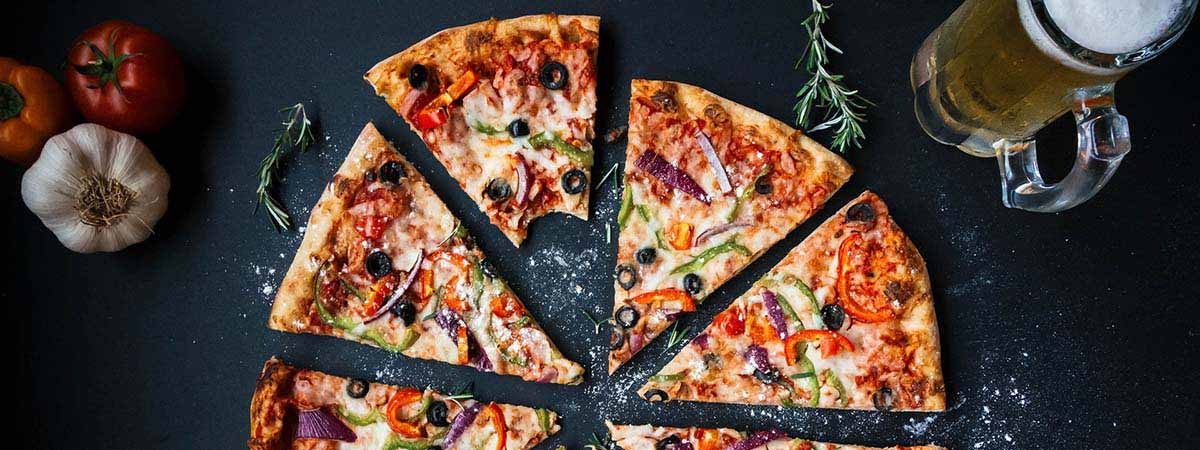 ost på pizza gravid
