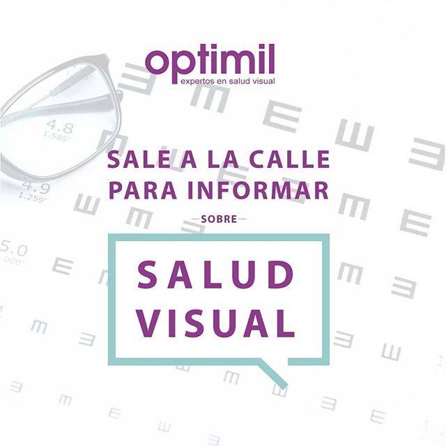 bf3c781e8e ... población de Ávila sobre la importancia del cuidado de la #SaludVisual.  Facilitaremos información, haremos juegos visuales y daremos regalos.  ....no ...
