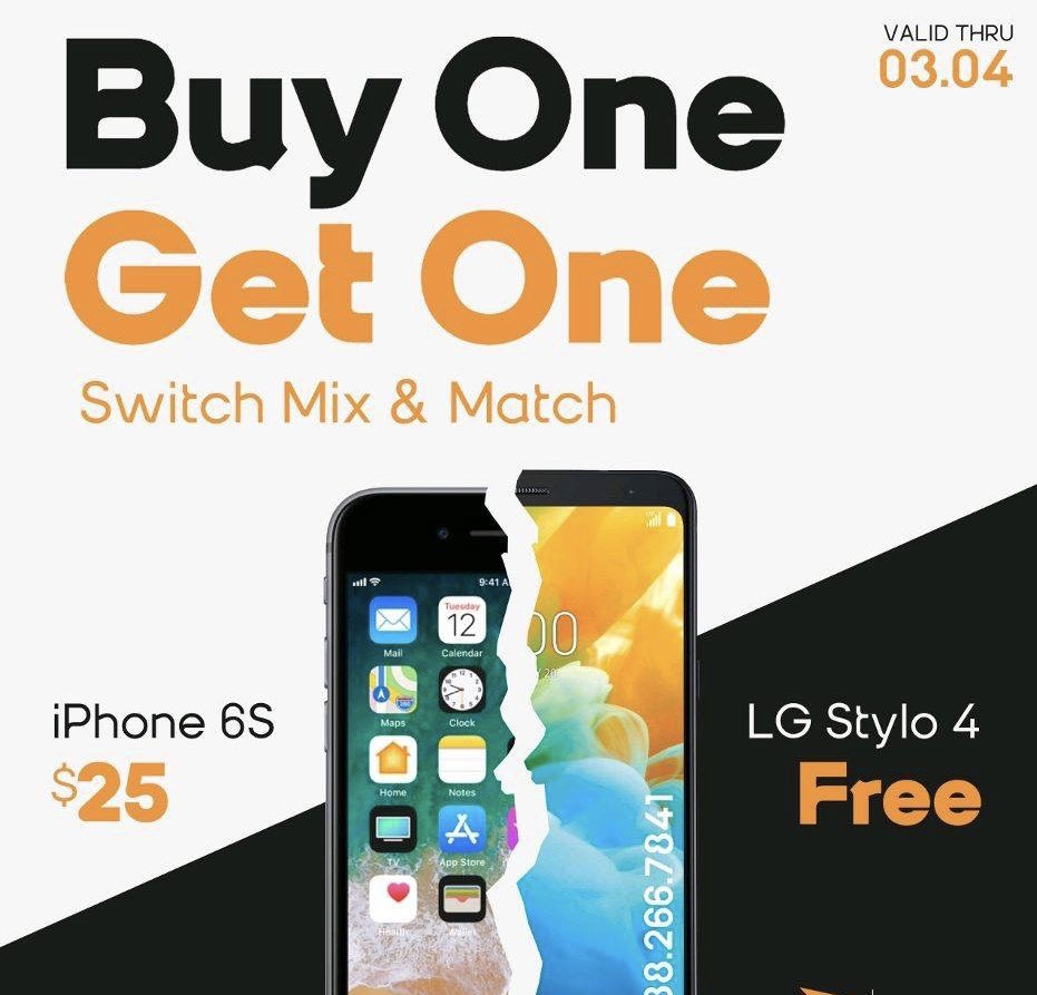 🎉🎉BOGO PROMOTION 🎉🎉 Switch to Boost Mobile, get an