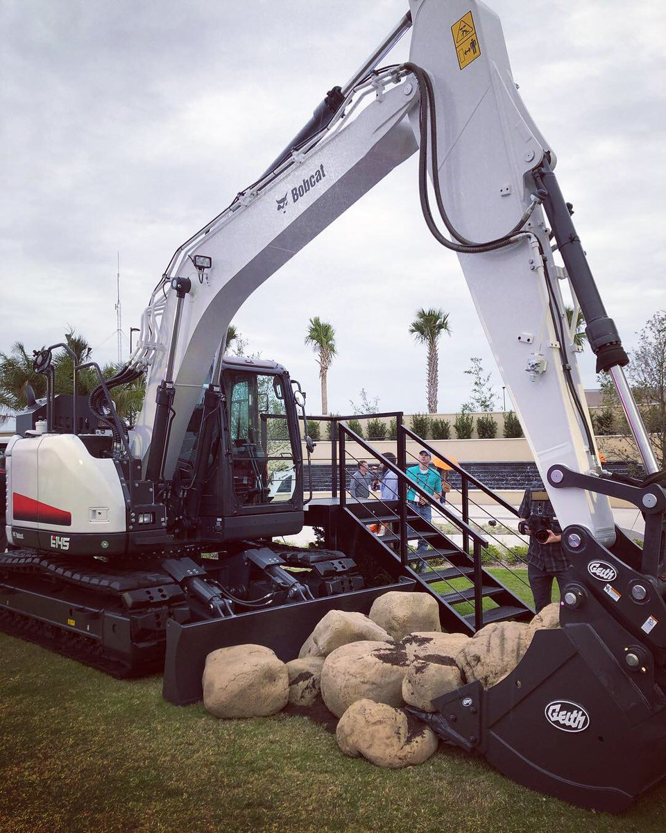 Bobcat Of Toronto On Twitter Our All New Bobcat 14 5 Tonne Excavator Coming Fall 2019 The Biggest Baddest Bobcat Excavator Ever Brought Out Dig It Break It Do Anything With This Beast Onetoughanimal