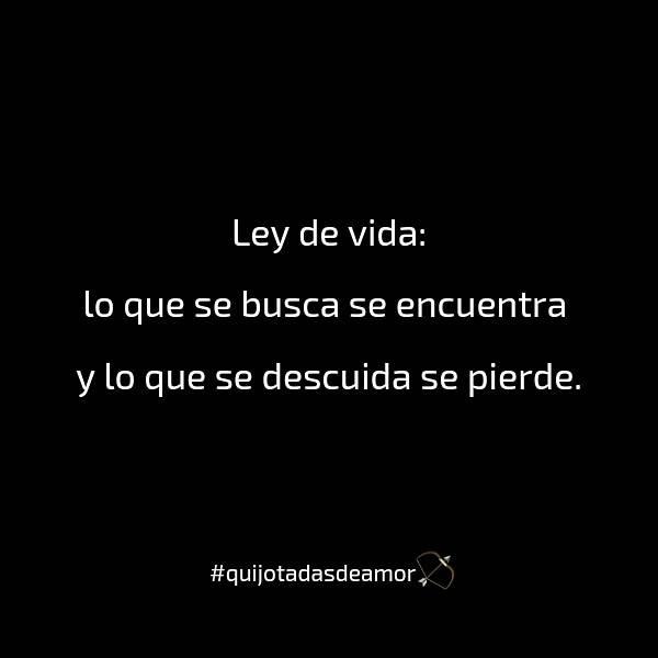 Quijotadas De Amor On Twitter Quijotadasdeamor Ley De