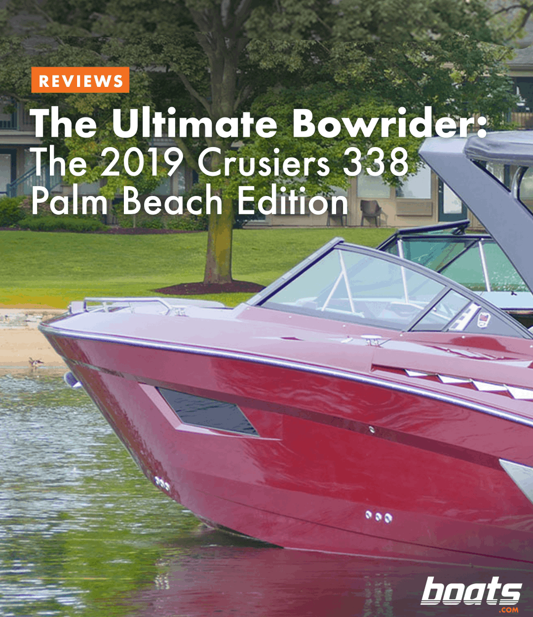 Boats Com On Twitter Is The Cruisers Yachts 338 Palm Beach Edition