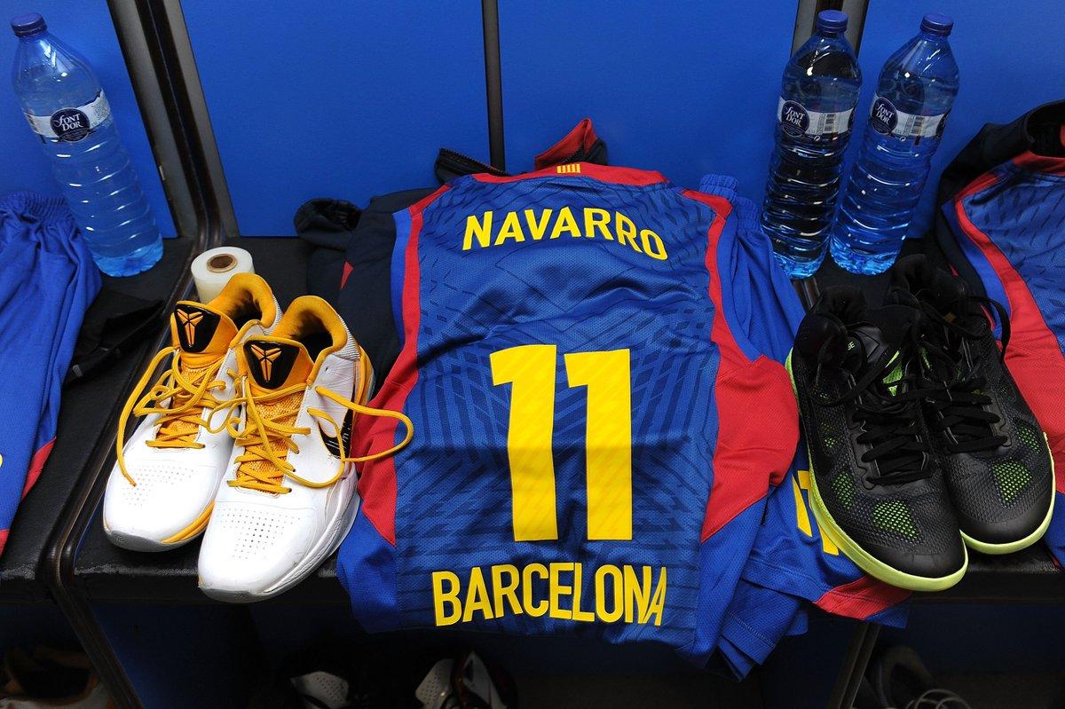 Gracias Number 11...  Tomorrow, @FCBbasket will retire the jersey of a club legend, Juan Carlos Navarro 👏  #GameON