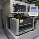 Image for the Tweet beginning: Sodick VZ300L Wire EDM, New