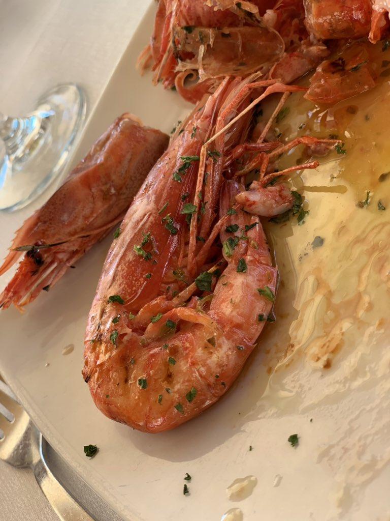 Mazzara del vallo prawns!!!! Fucking incredible
