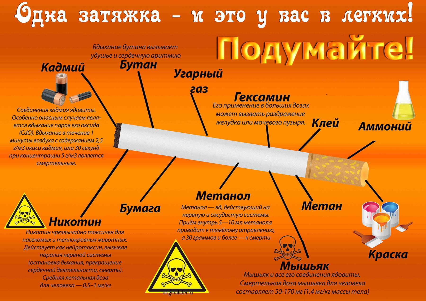 плакат о вреде курения своими руками фото азазеля