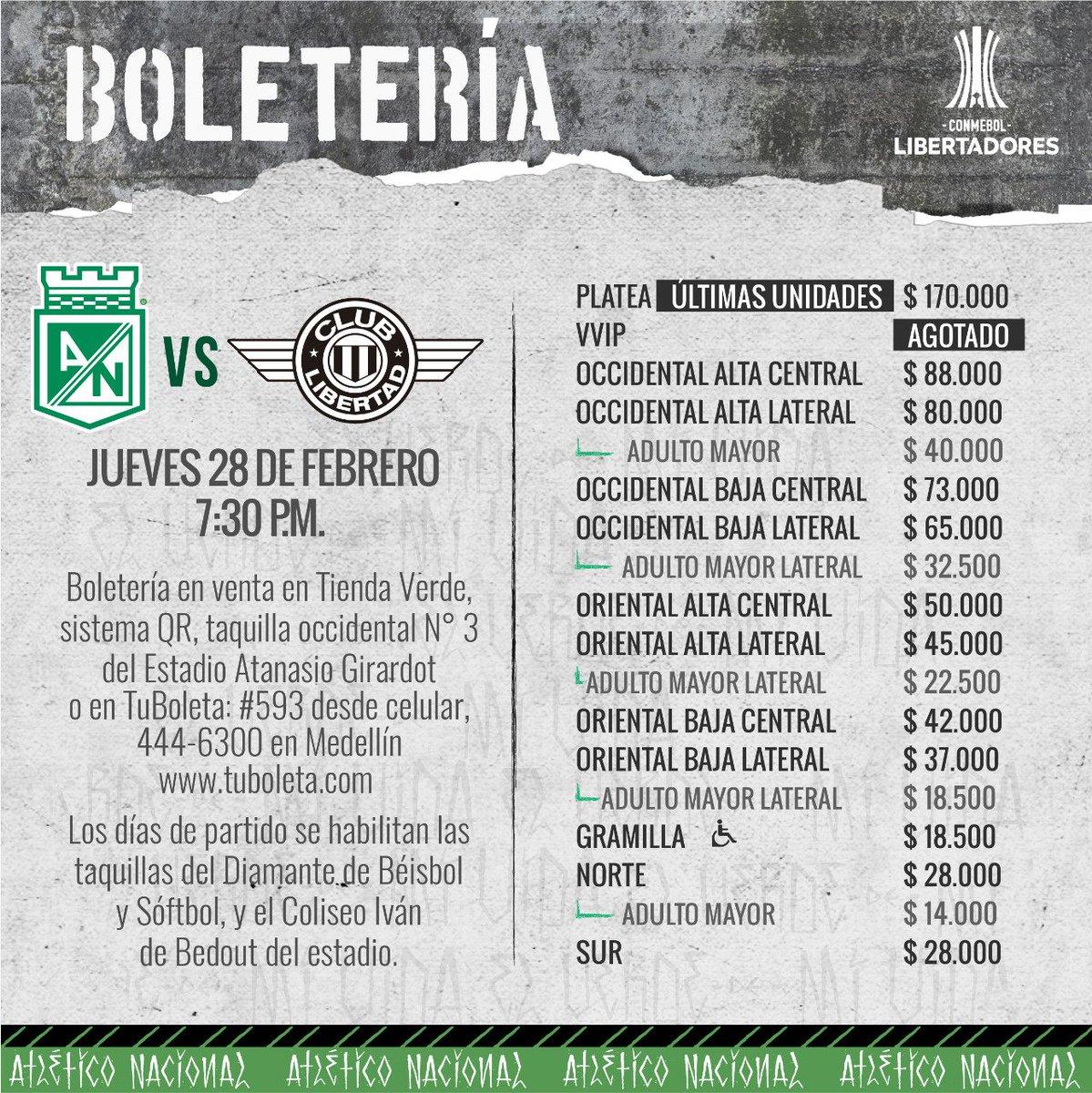 f7aea9380 Atlético Nacional on Twitter