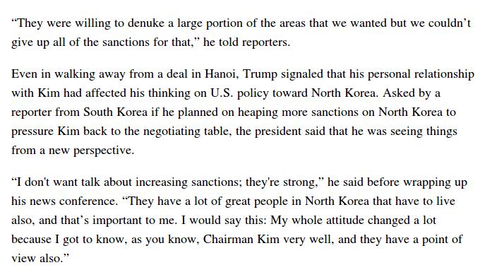 Reuniones entre Kim Jong-Un y Donald Trump D0gX-ZsX4AA6lGC