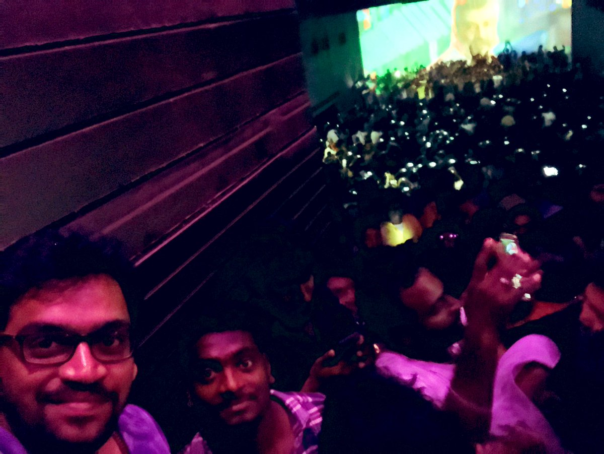 Glory to God😇❤️🙏🏻 The success felt special when celebrated with #ThalaAjith sir fans! Thank you @RohiniSilverScr for making us a part of it😍 #Viswasam50thDay @directorsiva #Nayanthara @immancomposer @vetrivisuals @SathyaJyothi_ @arjun1on @iam_savari @antonybhagyaraj