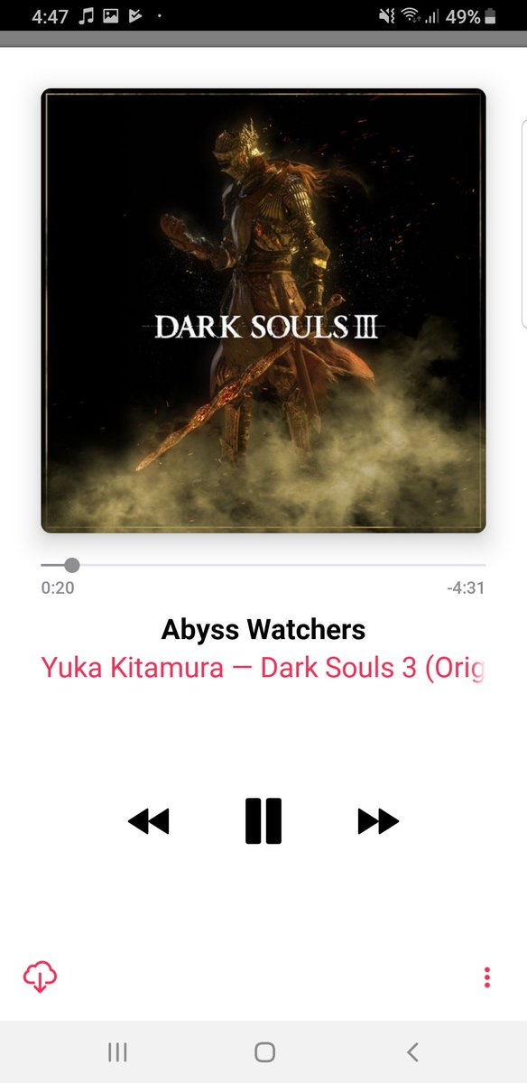 Dark Souls (I, II and II) OST now available on iTunes (US