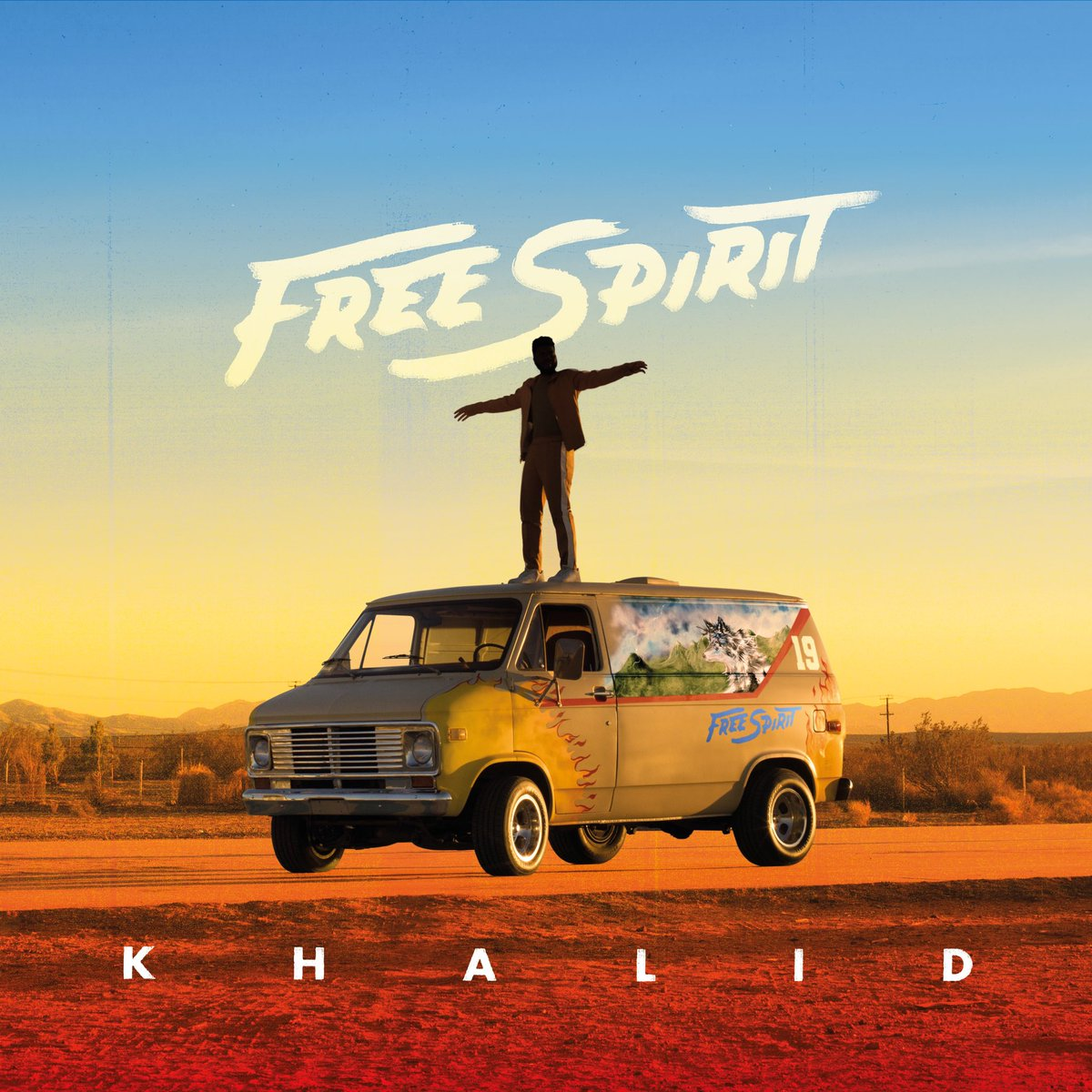 Free Spirit the album Drops on April 5th Make sure to pre-order on March 7th. ❤️🤟🏾