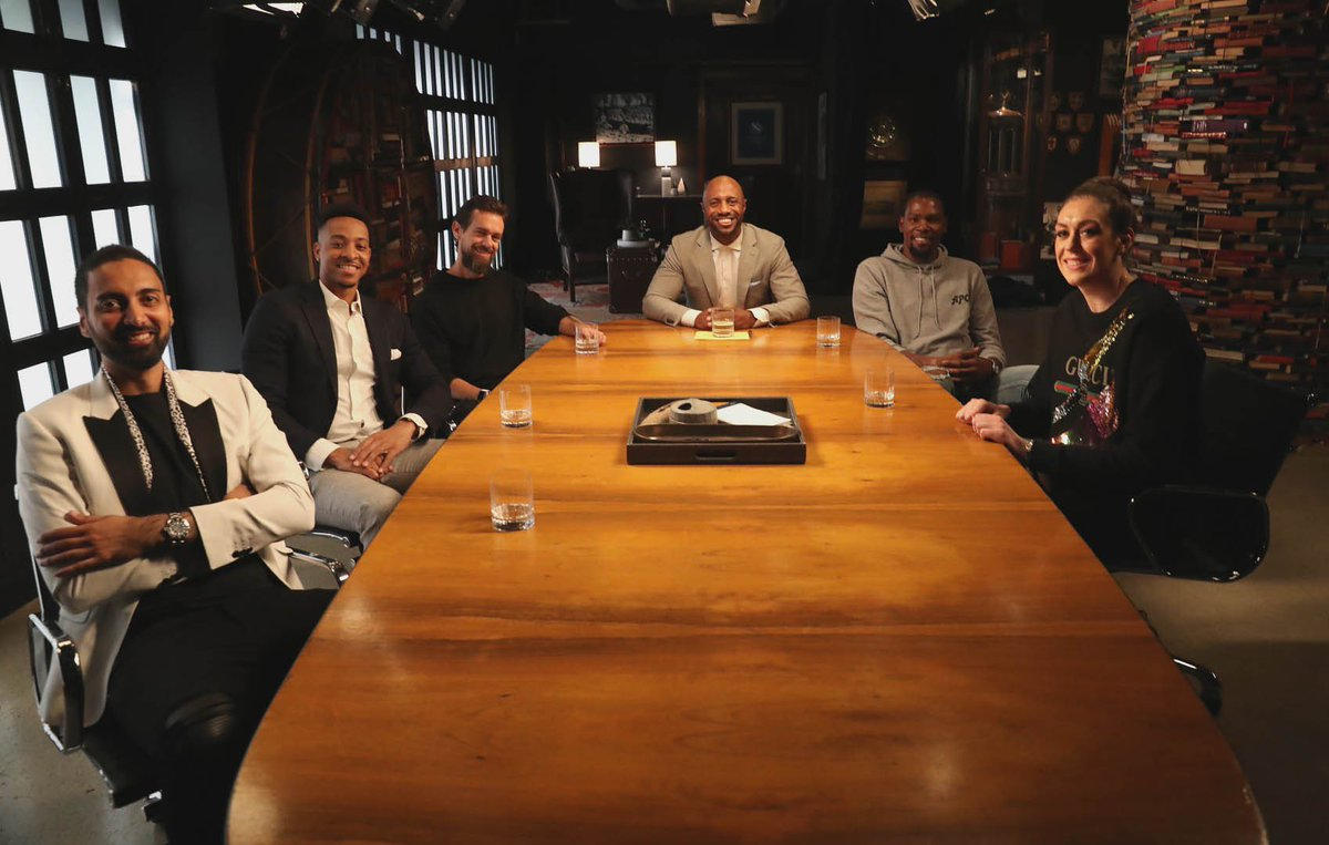 We've got a lot to say about the business of social media with @jack @Ronnie2K @breannastewart @CJMcCollum @KDTrey5 and @realjaywilliams. Get ready - the episode drops 3/15 on ESPN+.