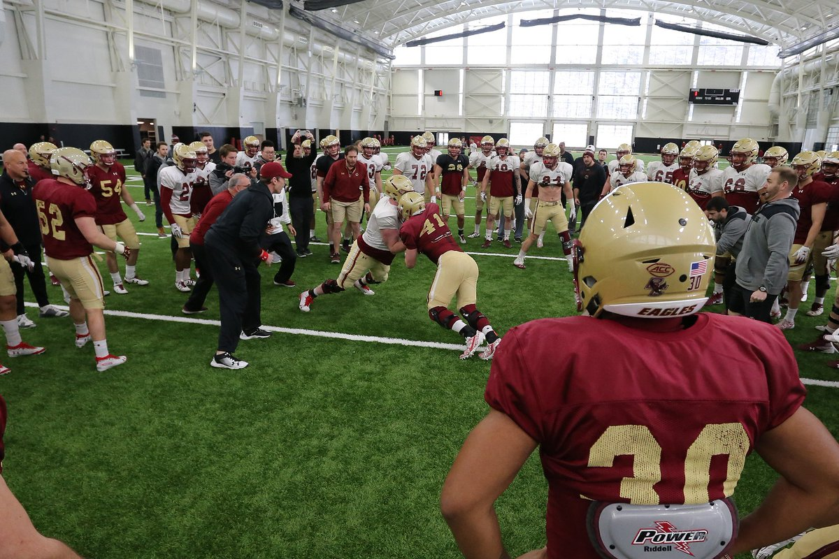First day in full pads 📸   #WeAreBC