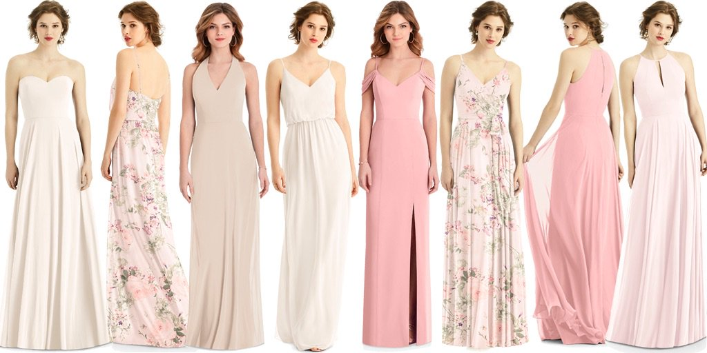 a92a0c5bbce Browse our collections of affordable bridesmaid dresses. From left