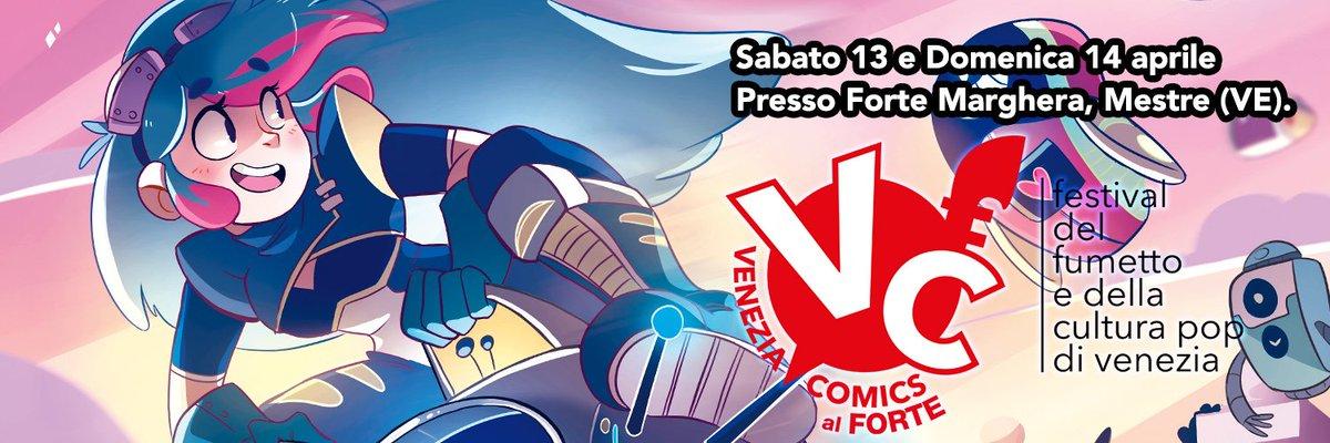 """test Twitter Media - 📣 Il festival del fumetto e della cultura pop di Venezia torna il  13 e 14 aprile con un'edizione """"speciale"""" in una nuova location, unica  nel suo genere: Forte Marghera!! ✨ https://t.co/JoawD6HZdf"""