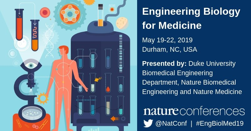 TOMORROW Is The Abstract Submission Deadline For Our Nature Conference Engineering Biology Medicine Dont Miss Your Chance To Present Research