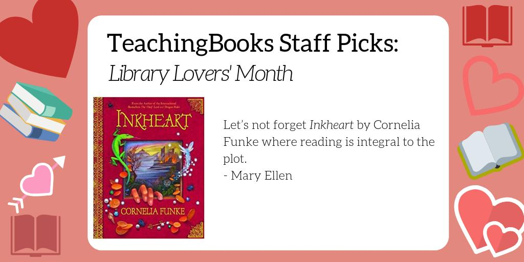 test Twitter Media - February is Library Lover's Month. What's your go-to book about libraries or book lovers? Here's a resource for a favorite of ours -  https://t.co/URDH5eiDpS  @Scholastic @CorneliaFunke https://t.co/rQZjEuQie3