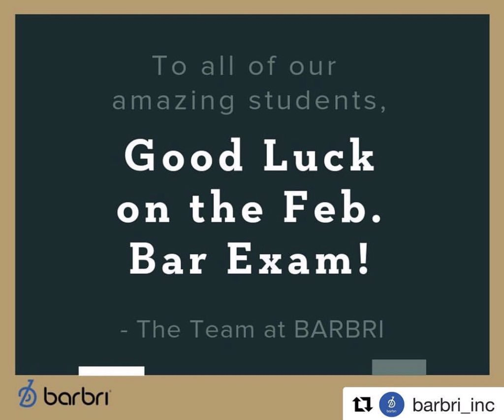 Barbri Study Schedule