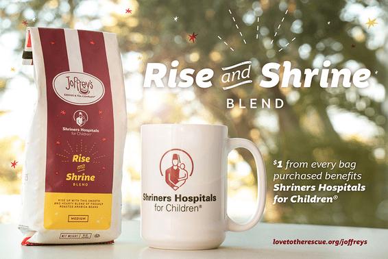 BillHoslerpm Rise and Shrine Coffee Benefits Shriners Hospitals